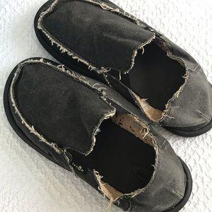 Sanuk Slip On Shoes Mens Size 9